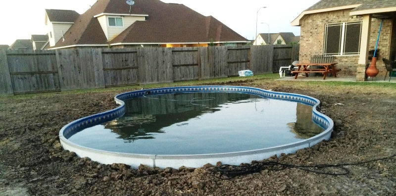 Pool installation process cryer pools spas inc for Inground pool installation